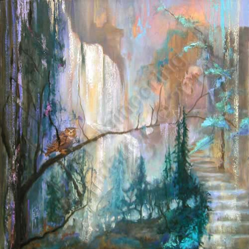 Guardian of the Threshold - Edges of Existence - The Art of Oneness by Deb Corbett